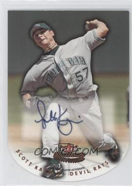 2005 Fleer Platinum Die-Cut Autographs #13 - Scott Kazmir