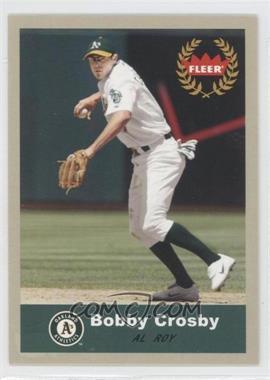 2005 Fleer Tradition - [Base] - Grey Back #336 - Bobby Crosby