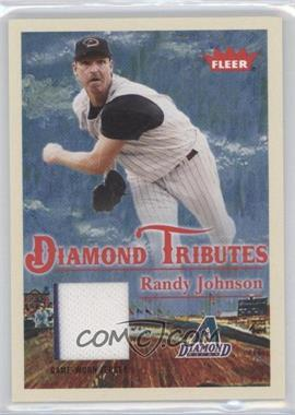 2005 Fleer Tradition - Diamond Tributes - Materials [Memorabilia] #DT/RJ - Randy Johnson