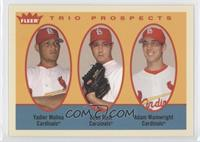 Yadier Molina, Adam Wainwright, Evan Rust