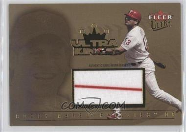 2005 Fleer Ultra Ultra Kings Memorabilia UltraSwatch #UKJ-BA - Bobby Abreu /53