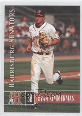 2005 Grandstand Harrisburg Senators #16 - Ryan Zimmerman