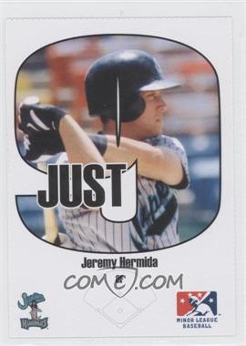 2005 Just Minors - Beckett Insert Just 9 #8 - Jeremy Hermida