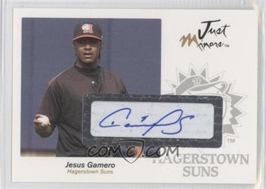 2005 Just Minors - Just Autographs - Autographs [Autographed] #22 - Jesus Gamero