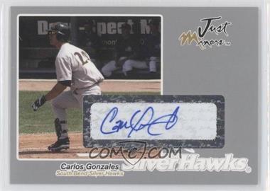 2005 Just Minors - Just Autographs - Silver Autographs [Autographed] #24 - Carlos Gonzalez /100