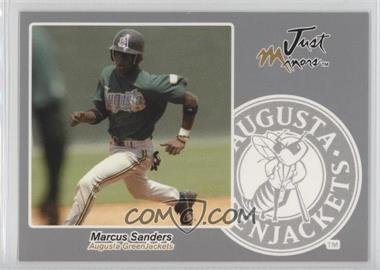 2005 Just Minors - Just Autographs - Silver #57 - Marcus Sanders /200