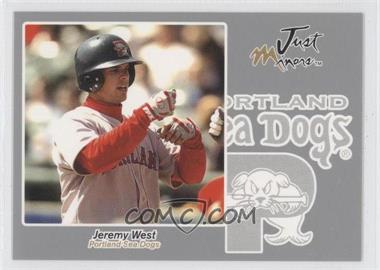 2005 Just Minors - Just Autographs - Silver #69 - Jeremy West /200