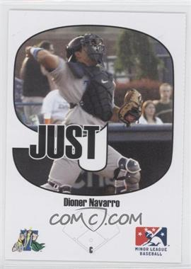 2005 Just Minors Beckett Insert Just 9 #2 - Dioner Navarro