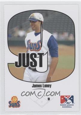 2005 Just Minors Beckett Insert Just 9 #3 - James Loney