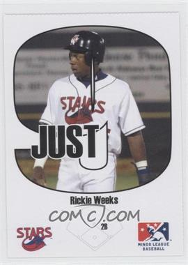 2005 Just Minors Beckett Insert Just 9 #4 - Rickie Weeks