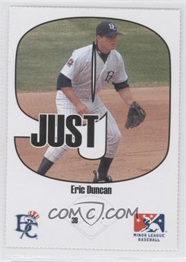2005 Just Minors Beckett Insert Just 9 #5 - Eric Duncan