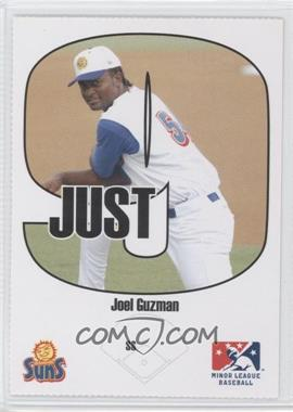 2005 Just Minors Beckett Insert Just 9 #6 - Joel Guzman