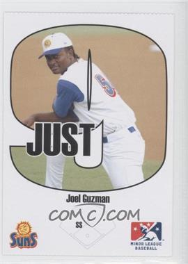 2005 Just Minors Beckett Insert Just 9 #6 - Joel Guzman