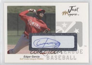 2005 Just Minors Just Autographs Autographs [Autographed] #23 - Edgar Garcia