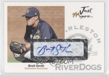 2005 Just Minors Just Autographs Autographs [Autographed] #59 - Brett Smith