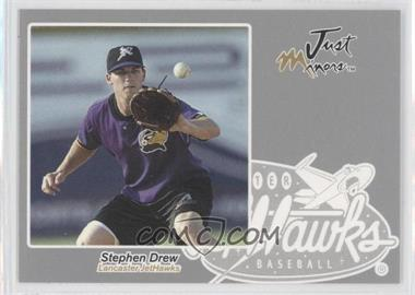 2005 Just Minors Just Autographs Silver #15 - Stephen Drew /200