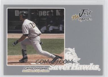 2005 Just Minors Just Autographs Silver #24 - Carlos Gonzalez /200