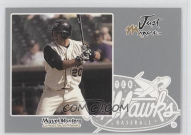 2005 Just Minors Just Autographs Silver #46 - Miguel Montero /200