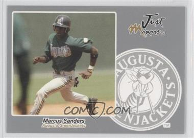 2005 Just Minors Just Autographs Silver #57 - Marcus Sanders /200
