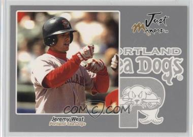 2005 Just Minors Just Autographs Silver #69 - Jeremy West /200