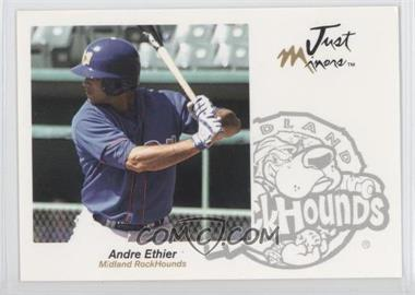 2005 Just Minors Just Autographs #18 - Andre Ethier
