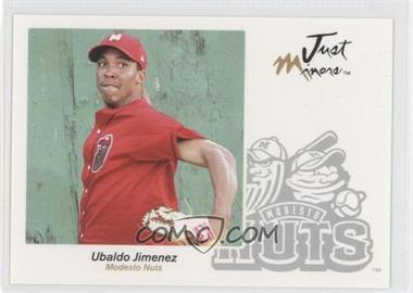 2005 Just Minors Just Autographs #33 - Ubaldo Jimenez
