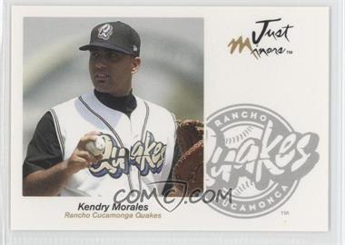 2005 Just Minors Just Autographs #47 - Kendrys Morales