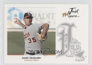 2005 Just Minors Just Autographs #66 - Justin Verlander