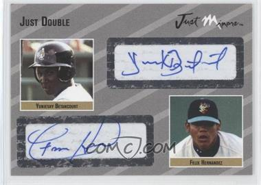 2005 Just Minors Just Double Autographs Silver #JD.si.03 - Yuniesky Betancourt /25