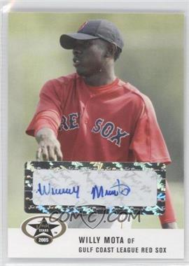 2005 Just Minors Just Stars Autographs [Autographed] #37 - Willy Mota
