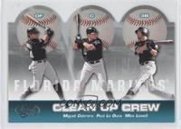 Miguel Cabrera, Mike Lowell, Paul LoDuca /250