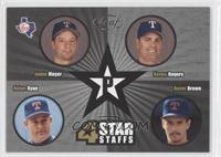 Jamie Moyer, Kenny Rogers, Nolan Ryan, Kevin Brown