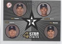 Andy Pettitte, Mariano Rivera, Roger Clemens, Mike Mussina