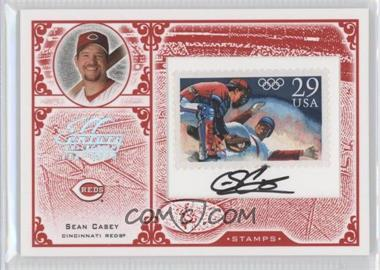 2005 Leaf Century Collection Stamps Olympics Signatures [Autographed] #S-46 - Sean Casey /21