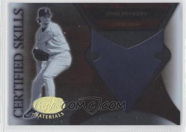 2005 Leaf Certified Materials - Certified Skills #CS-14 - Josh Beckett