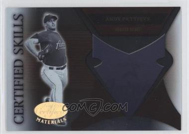 2005 Leaf Certified Materials Certified Skills #CS-1 - Andy Pettitte