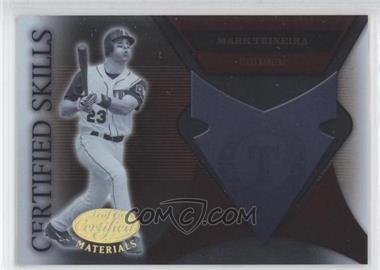 2005 Leaf Certified Materials Certified Skills #CS-18 - Mark Teixeira