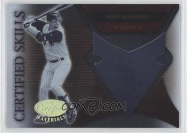 2005 Leaf Certified Materials Certified Skills #CS-20 - Paul Konerko