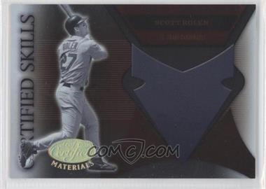 2005 Leaf Certified Materials Certified Skills #CS-21 - Scott Rolen
