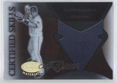 2005 Leaf Certified Materials Certified Skills #CS-24 - Victor Martinez
