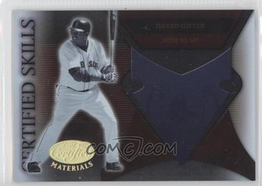 2005 Leaf Certified Materials Certified Skills #CS-6 - David Ortiz