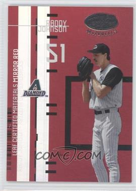 2005 Leaf Certified Materials Leaf Certified Materials Mirror Red #LC-12 - Randy Johnson /200