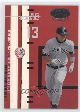2005 Leaf Certified Materials Leaf Certified Materials Mirror Red #LC-2 - Alex Rodriguez /200