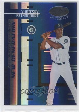 2005 Leaf Certified Materials Mirror Blue #250 - Yuniesky Betancourt /50