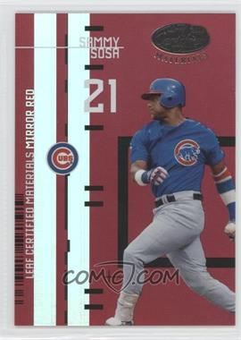 2005 Leaf Certified Materials Previews Mirror Red #LC-14 - Sammy Sosa /200