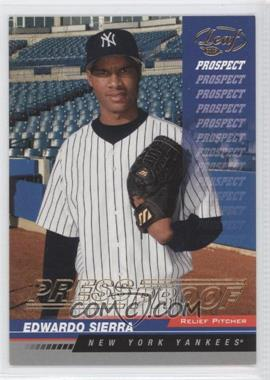 2005 Leaf Gold Press Proof #215 - Eduardo Sierra /25