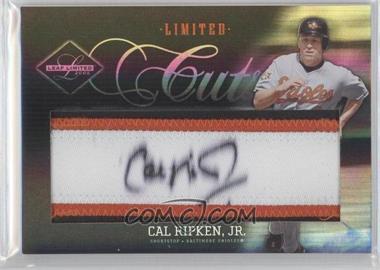 2005 Leaf Limited - Limited Cuts - Silver #LC-5 - Cal Ripken Jr. /25