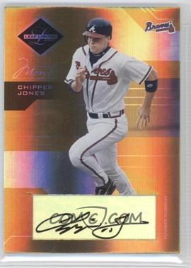 2005 Leaf Limited [???] #15 - Chipper Jones /5