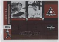 Ted Williams, Joe Cronin /50