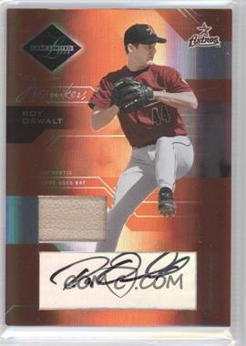 2005 Leaf Limited Monikers Bronze Materials Bats [Autographed] [Memorabilia] #45 - Roy Oswalt /50